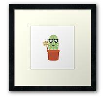 Cactus free hugs Framed Print