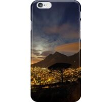 Table Mountain at Night iPhone Case/Skin