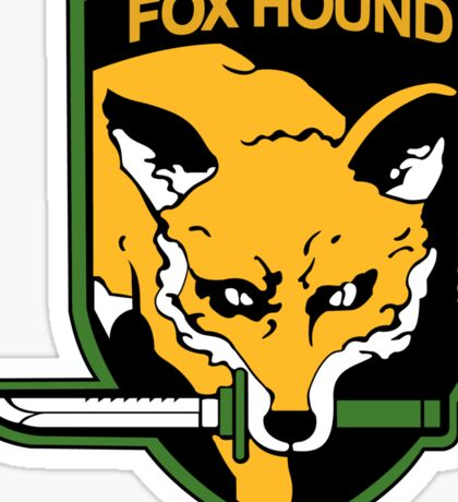 Metal Gear Solid - Fox Hound Emblem Sticker