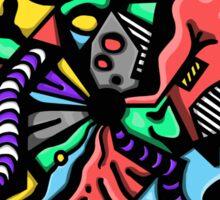 Fish Graffiti Sticker