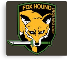 Metal Gear Solid - Fox Hound Emblem Canvas Print