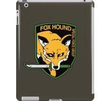 Metal Gear Solid - Fox Hound Emblem iPad Case/Skin