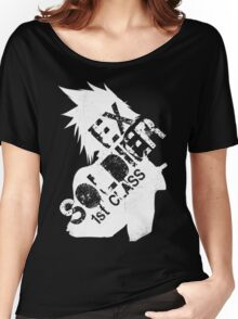 Cloud Strife ex-SOLDIER white Women's Relaxed Fit T-Shirt