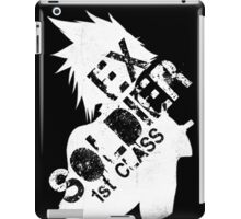 Cloud Strife ex-SOLDIER white iPad Case/Skin