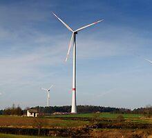 Windpark 2, Bavaria, Germany. by David A. L. Davies