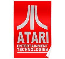 Atari Vinatge funny nerd geek geeky Poster