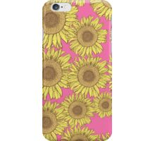 Cute Vintage Yellow Sunflowers iPhone Case/Skin