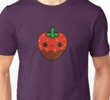 Cute chocolate dipped strawberry Unisex T-Shirt