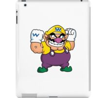 Wario from the Mario series iPad Case/Skin