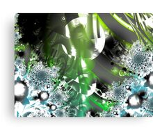 Vector Forest Art Canvas Print