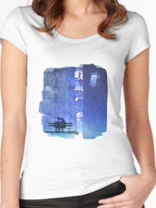 Doctor who - Amy and Rory Women's Fitted Scoop T-Shirt