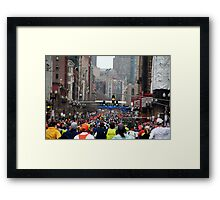 Boston Marathon Framed Print