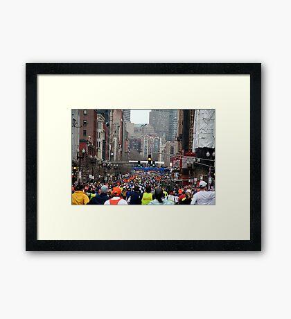 Boston Marathon Framed Print