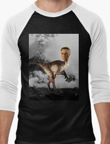 ChristopheRAPTOR Walken - Christopher Walken Velociraptor Men's Baseball ¾ T-Shirt