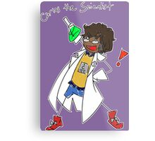 Carlos the Scientist Metal Print