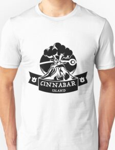 Cinnabar Island Pokemon Gym Anime Inspired Unisex T-Shirt