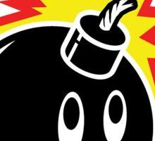 The Hundreds Bomb logo Sticker