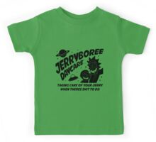 Rick and Morty Inspired Jerryboree Daycare Kids Tee