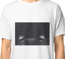 Dirty Chucks Standing on the Edge Classic T-Shirt