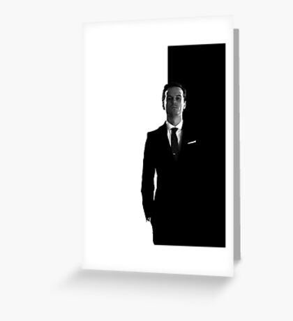 Sherlock BBC - Moriarty Greeting Card