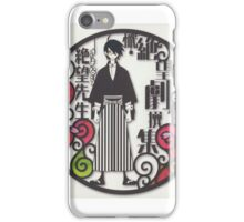 Zetsubou Sensei iPhone Case/Skin