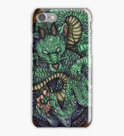 Jade Baby Dragon in Egg iPhone Case/Skin