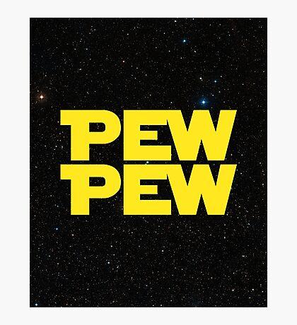 Pew pew! Photographic Print