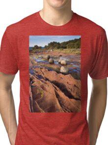 Corrie, Arran Tri-blend T-Shirt