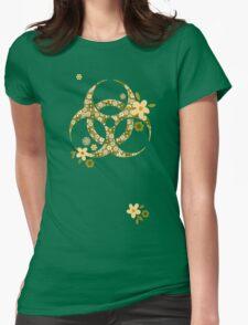 Sweet biohazard Womens Fitted T-Shirt