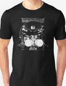Da Vinci Drum Vitruvian Leonardo Da Vinci T-Shirt