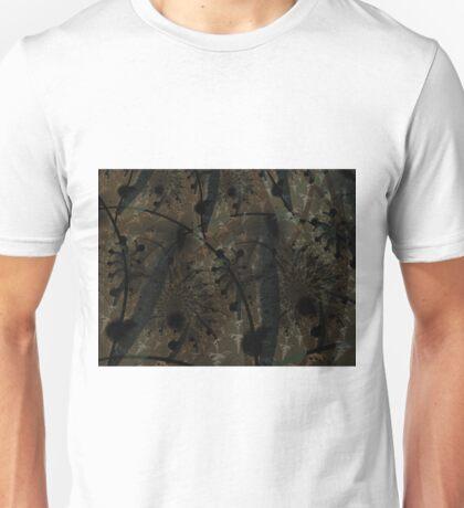 Forest Floor Art Texture Unisex T-Shirt
