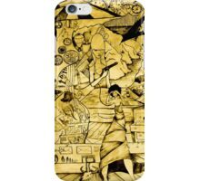Wrap me in time iPhone Case/Skin