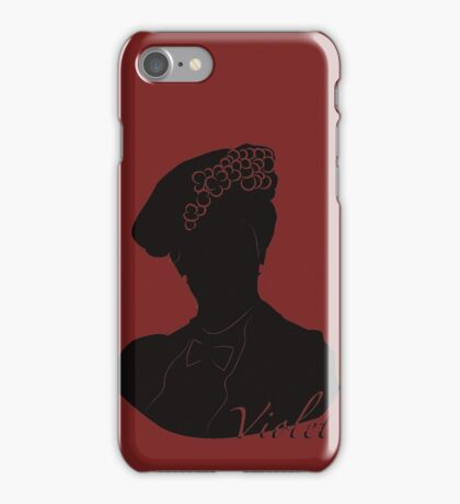 Downton Abbey, Violet iPhone Case/Skin