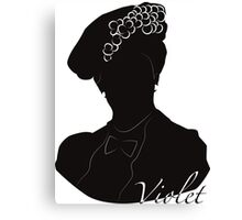 Downton Abbey, Violet Canvas Print