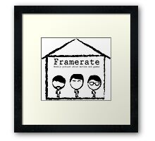 The Classic look- Black Framed Print