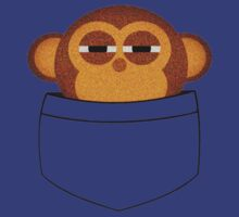 Pocket Monkey T-Shirt by thugvarys
