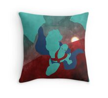 Justice: The Martian Minimalist Comics Justice League of America Throw Pillow