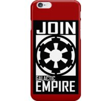 Join GALACTIC EMPIRE iPhone Case/Skin