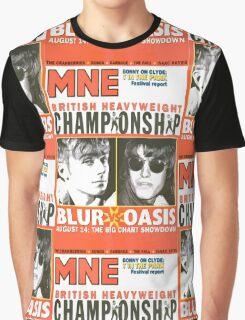 The Battle of Britpop Graphic T-Shirt