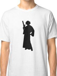 Star Wars Princess Leia Black Classic T-Shirt