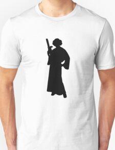 Star Wars Princess Leia Black T-Shirt