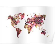 World Map 2033 Poster
