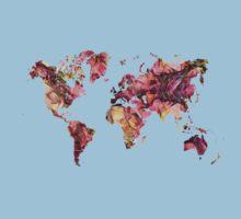 World Map 2033 Baby Tee