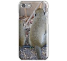 Mother and Child. Plotting Monkey business iPhone Case/Skin