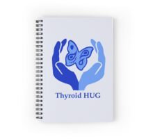 Thyroid HUG Spiral Notebook