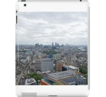 A view across London from centrepoint iPad Case/Skin