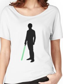 Star Wars Luke Skywalker Black Women's Relaxed Fit T-Shirt