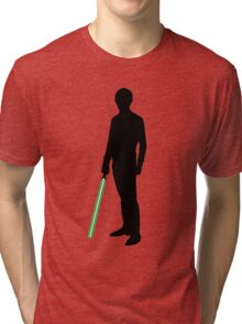 Star Wars Luke Skywalker Black Tri-blend T-Shirt