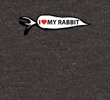 I Love My Rabbit - Carrot Unisex T-Shirt