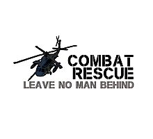 Combat Rescue- Leave no man behind Photographic Print